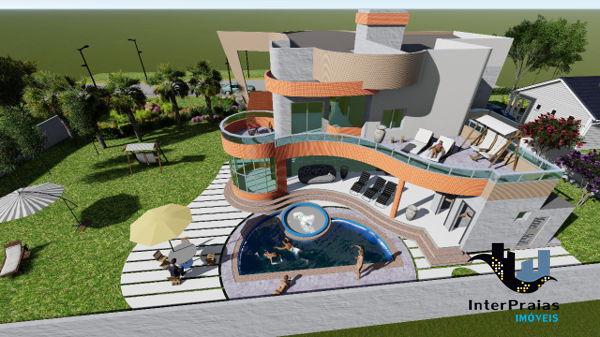 Casa No Condomínio Chácara Flora, Em Itapema