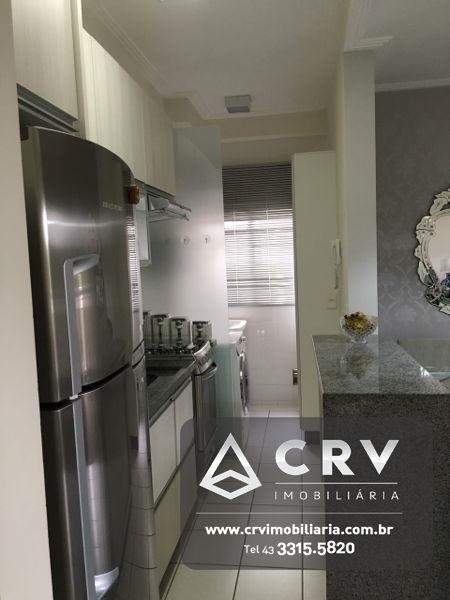 22533, Apartamento de 3 quartos, 66.0 m² à venda no Ed Piazza Di Roma, Pinheiros - Londrina/PR